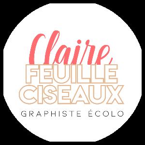 Claire Feuille Ciseaux, graphiste écolo